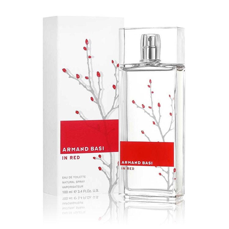 Armand Basi In Red - Eau De Toilette for Women 100 ml
