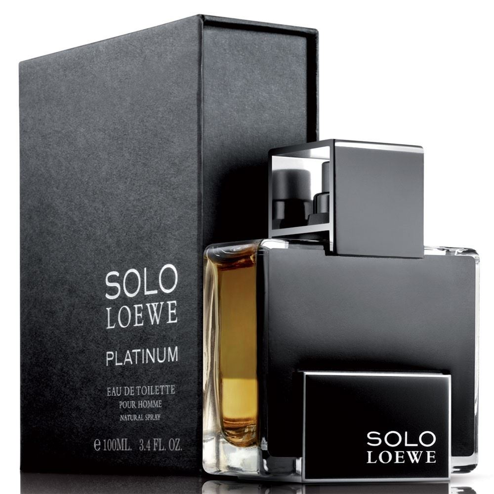 Loewe Solo Platinum - Eau De Tolitte for Men 100 ml