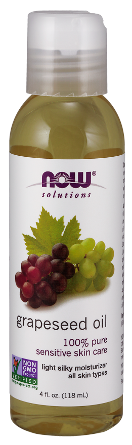 Now Solutions Grapeseed Oil for Skin