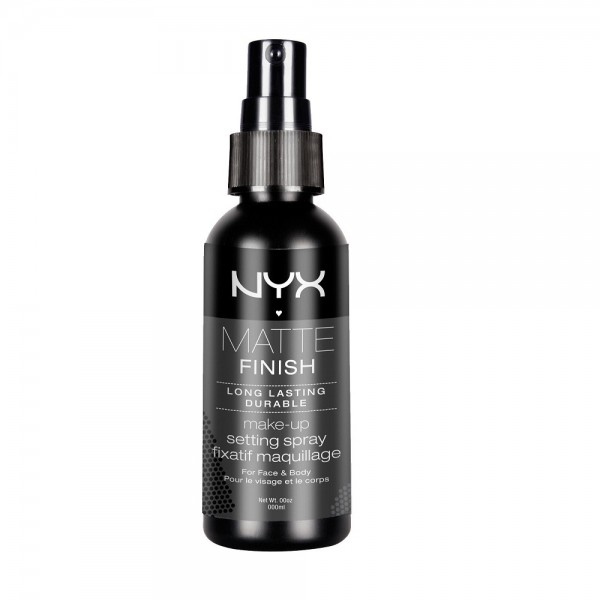 NYX Matte Finish - Long Lasting Makeup Setting Spray Clear 60 ml