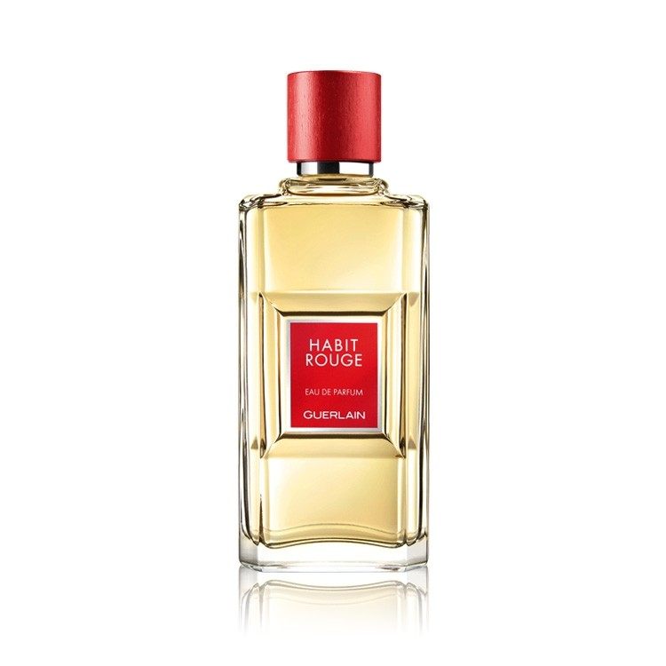 Guerlain Habit Rouge - Eau De Parfum for Men 100 ml