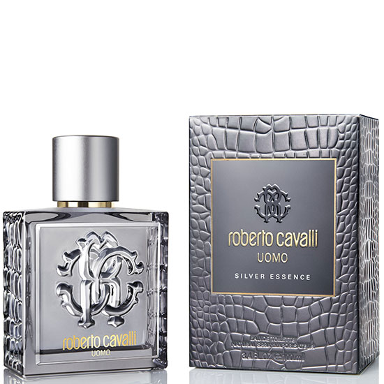 Roberto Cavalli Uomo Silver Essence - Eau De Toilette for Men