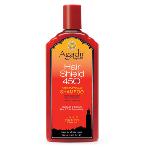 Agadir Argan Oil Hair Shield 450 Deep Fortifying Shampoo - 366 ml
