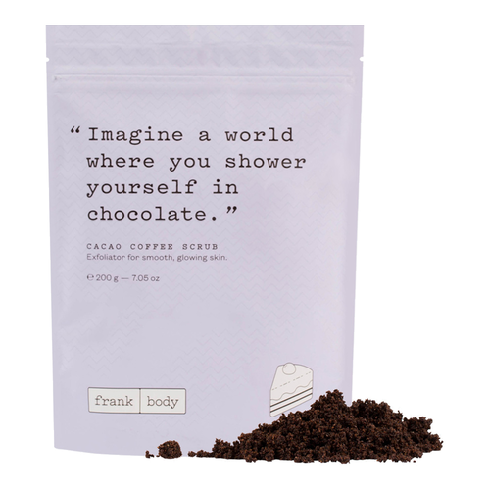 Frank Cacao Coffee Body Scrub