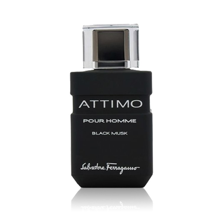 Salvatore Ferragamo Attimo Black Musk -  Eau De Toilette For Men 100 ml