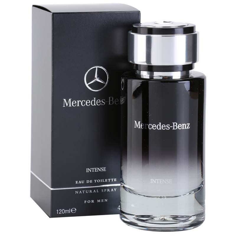 Mercedes Benz Intense - Eau De Toilette For Men 120 ml
