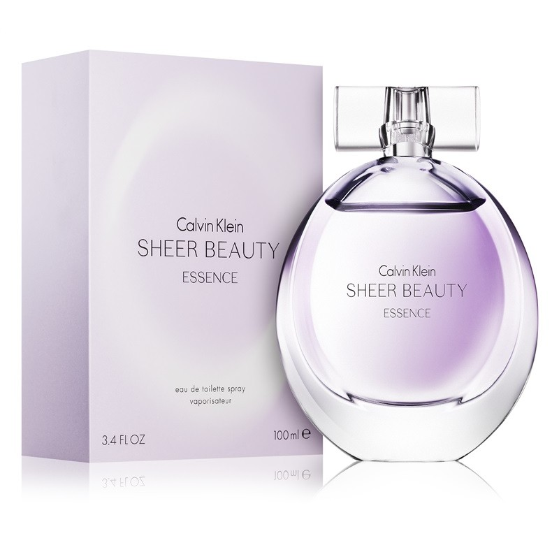 Calvin Klein Sheer Beauty Essence - Eau De Toilette for Women 100 ml